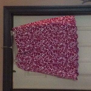 Talbots Women's Scalloped Skirt